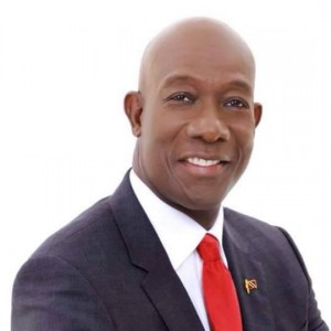 Prime Minister Dr. Keith Rowley