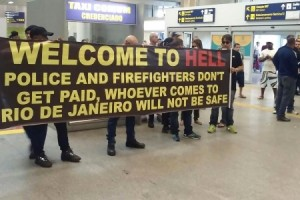 Brazil police strike at airport ahead of 2016 summer Olympics