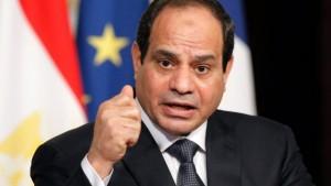 Egypt's President, Abdul Fattah al-Sisi
