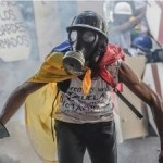 Opposition protester Photo: courtesy AFP