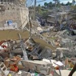 Haiti earthquake left over 200K dead and 1.5Mil displaced. Photo courtesy AFP