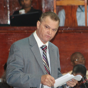 Member of Guyana's Peoples Progressive party, Harry Gill