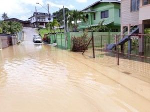 Flooding in Cedros