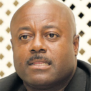 President of the Prison Officers Association Ceron Richards