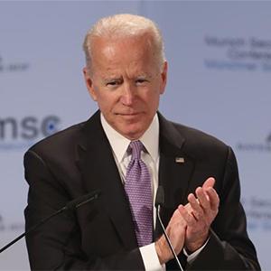 Former US Vice-President Joe Biden