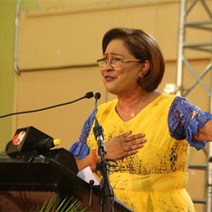 Opposition Leader, Mrs. Kamla Persad-Bissessar