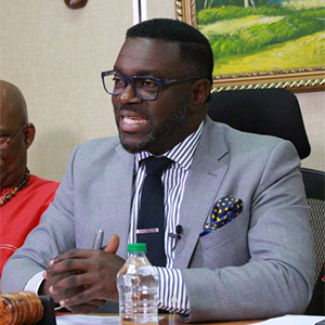 Minority Leader and Political Leader of the Progressive Democratic Patriots, Watson Duke