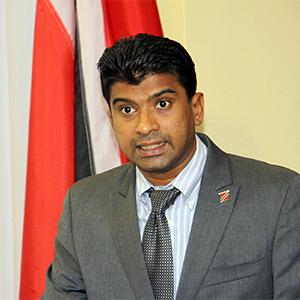 Chairman of the Siparia Regional Corporation Glen Ramadharsingh