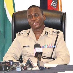 Guyana's Police Commissioner Leslie James