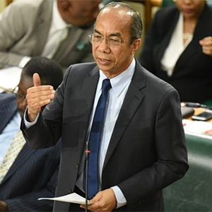 Jamaica Minister of National Security, Dr. Horace Chang
