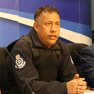 Police Commissioner, Gary Griffith