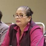 President of the National Parent Teachers Association, Rafina Ali- Boodoosingh