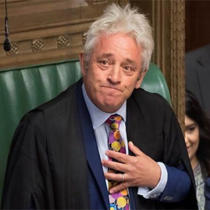 British politician and Speaker of the House of Commons, John Bercow